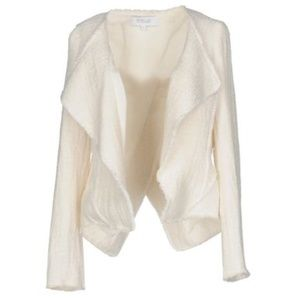 10 Crosby Derek Lam White Tweed Blazer